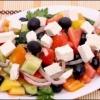 Грецький салат - покроковий рецепт - фото