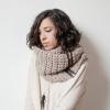 Як правильно надіти шарф-снуд