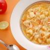Курячий суп з овочами