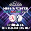 """Хлопці та дівчата можуть знову спробувати щастя на """"miss & mister azerbaijan-2017"""""""