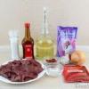Печінка в пікантному соусі - покроковий рецепт - фото
