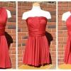 Плаття-трансформер: форма і майстер клас на прикладі суконь для повних, інфініті, емами (emami)