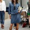 З чим носити джинсові плаття сорочку: створюємо легкий і стильний образ