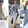 З чим носити чоловічі білі брюки влітку: поради модних стилістів