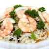 Салат рисовий з креветками