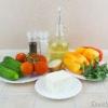 Шопський салат - покроковий рецепт - фото
